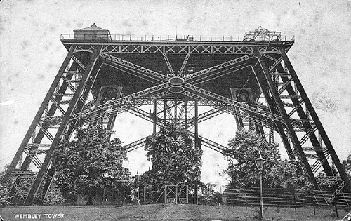 Watkin Tower (first stage) in approx 1900