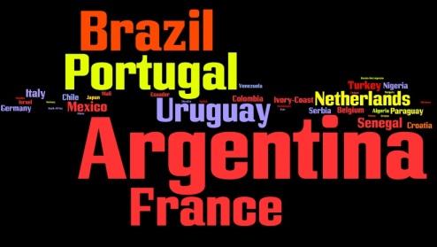 La Liga - nationalities represented