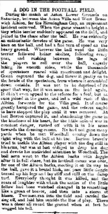 Leicester Chronicle, March 10th 1888