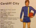 Cardiff City back inblue