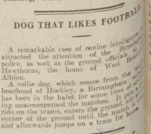 Aberdeen Press & Journal, 14th Jan 1924