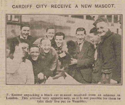 Cardiff City's less scary mascot